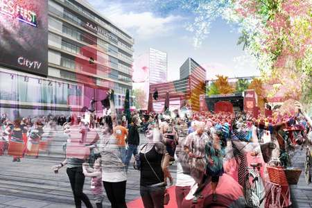 Jaarbeursplein Utrecht set for large transformation
