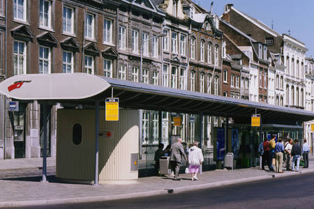 Bus shelters for the disabled, Maastricht