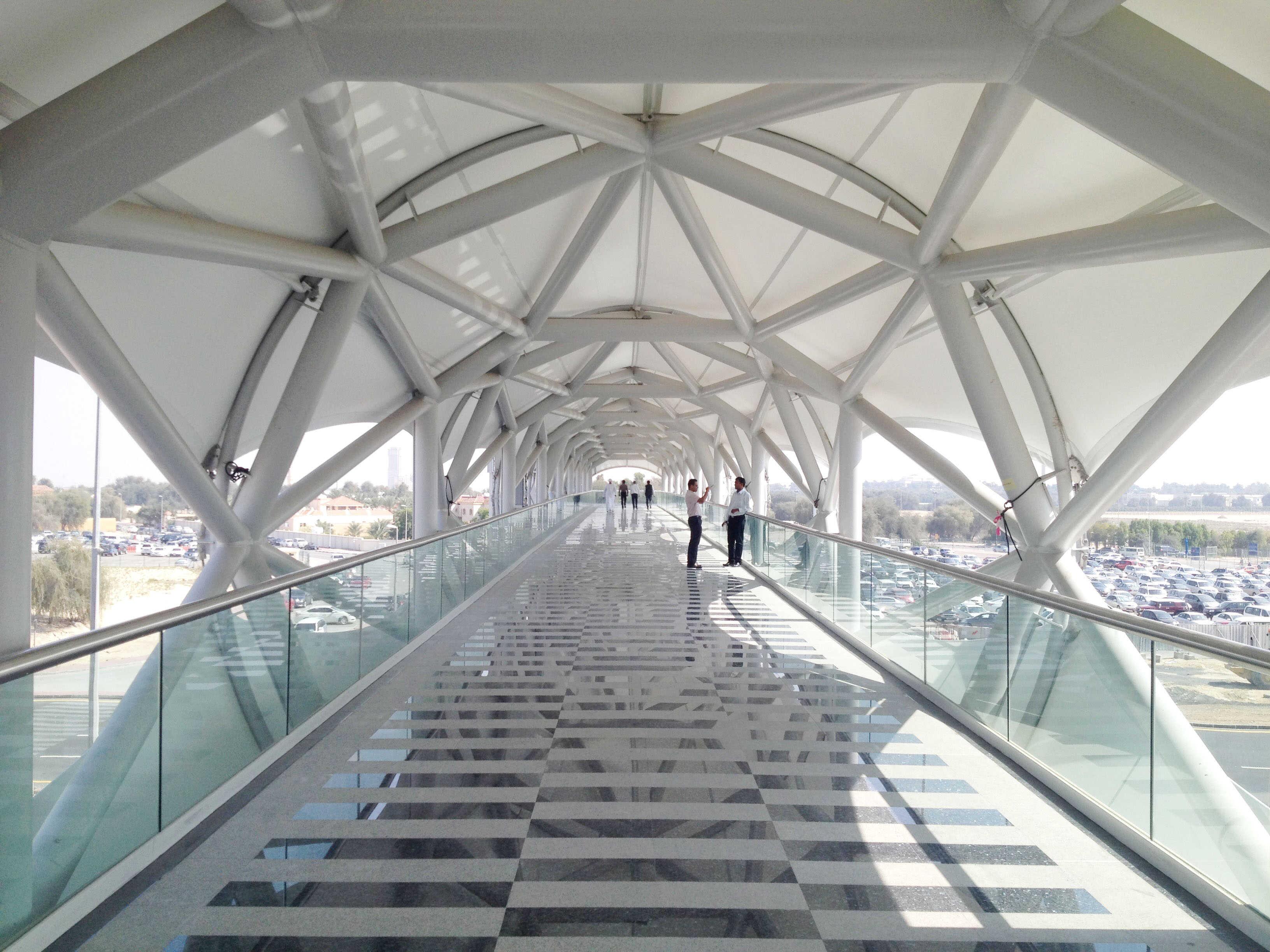 Dwtc Pedestrian Bridge Dubai Zwarts Amp Jansma Architects