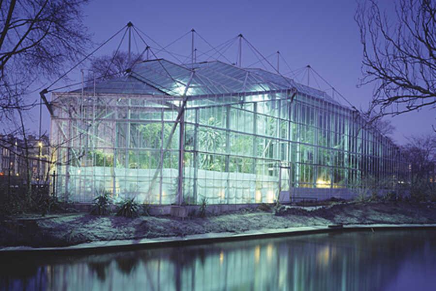 Botanische Tuin Amsterdam : Hortus botanicus amsterdam u zwarts jansma architects