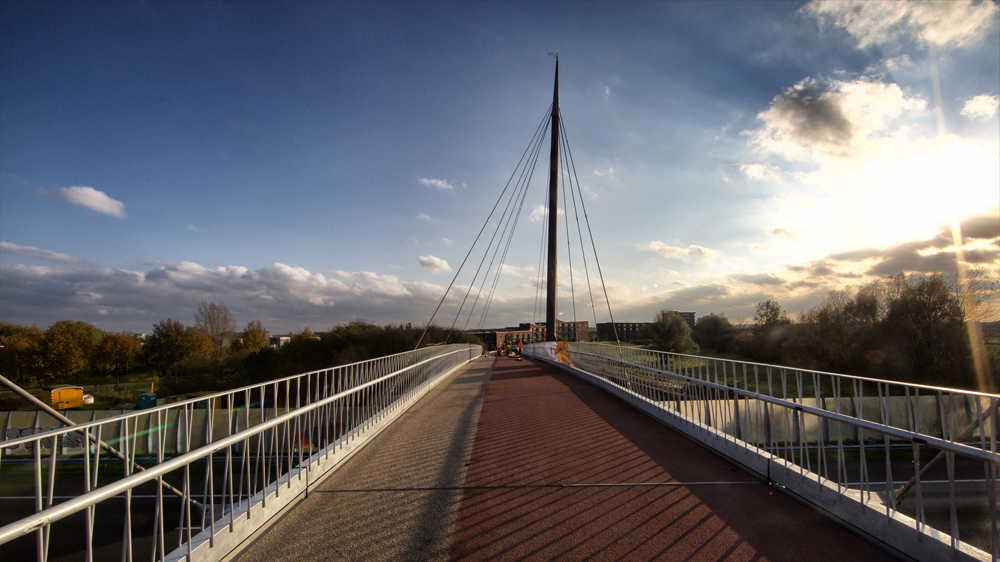 design of a cable stayed bridge