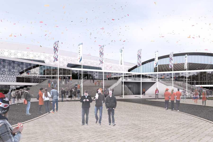 Thialf ice Arena — Zwarts & Jansma Architects