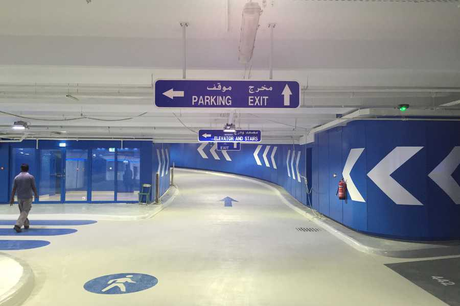 E11 Parking Abu Dhabi