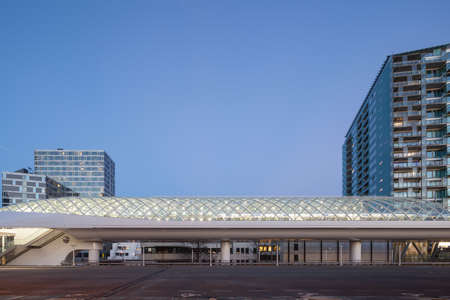 Lightrailstation The Hague wins WAN Award 2017