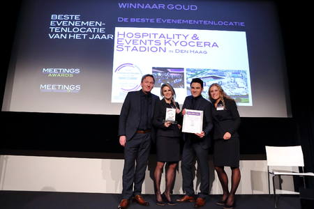 ADO Stadion wint Meeting Award