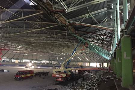 Second phase renovation Thialf