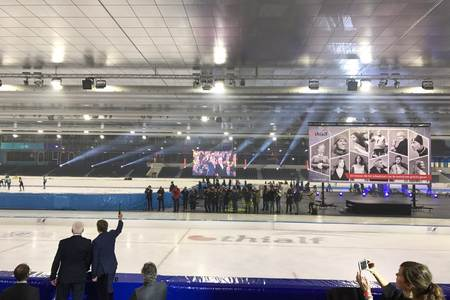 Inauguration Thialf by King Willem-Alexander