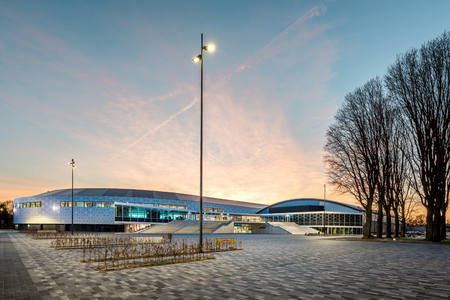 Revamped Thialf ice arena wins German Design Award 2018