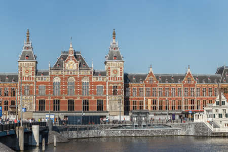 ZJA Zwarts & Jansma Architects is working on Amsterdam Central Station