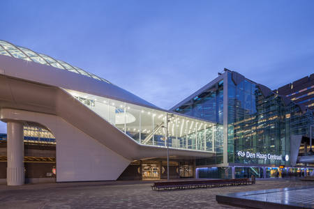 Lightrailstation The Hague nominated for WAN Transport Award 2017