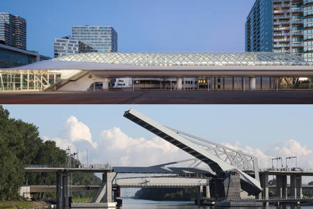 Bridges A11 and Lightrailstation The Hague nominated for Belgian Steel Awards 2018