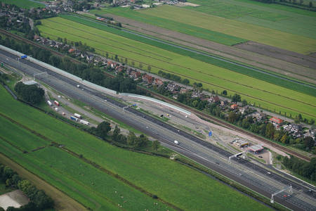 Road expansion A27/A1 inaugurated