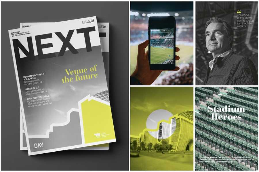 NEXT magazine - Venue of the future