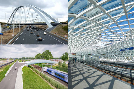 Three ZJA projects nominated for Dutch Steel Award 2018