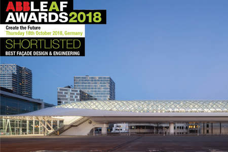 Lightrailstation The Hague shortlisted for ABB LEAF Awards 2018