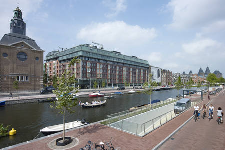 Award of Excellence for Albert Cuyp underwater parking garage Amsterdam