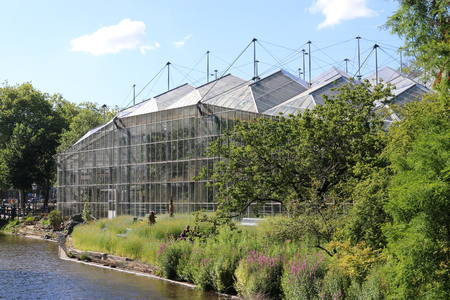 ZJA to design the renovation of the greenhouse of the Hortus Botanicus Amsterdam
