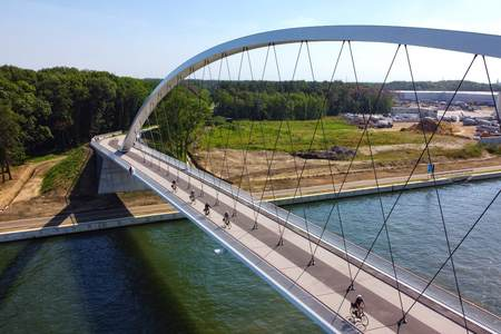 Bicycle bridge, Tessenderlo