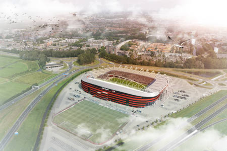 ZJA designs new roof for AZ stadium in Alkmaar