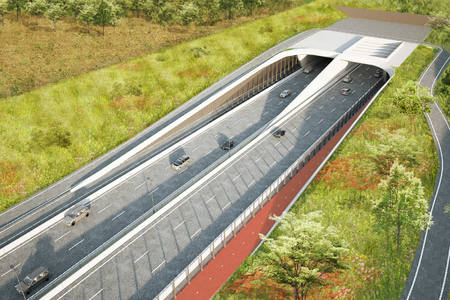 Construction on the Schelde tunnel Antwerp has started